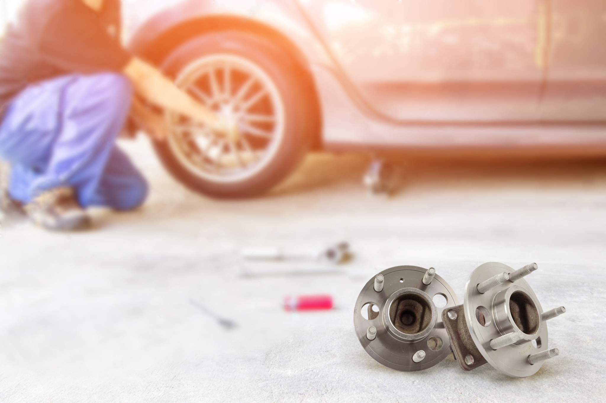 Signs you need a wheel hub replacement